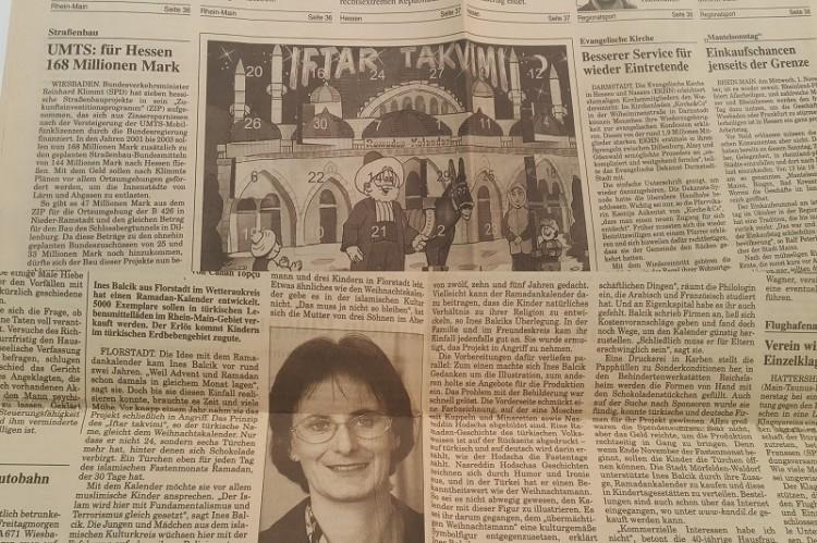 Ramadankalender Pressespiegel 2000