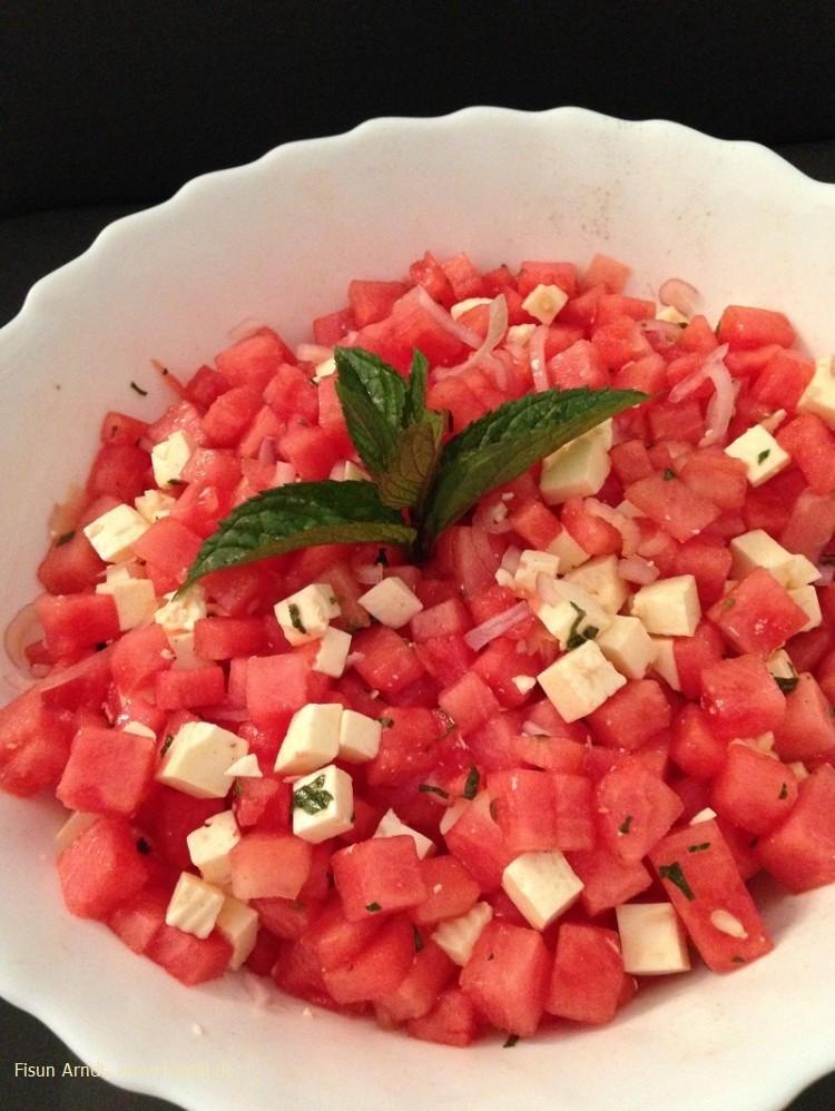 Melonensalat  blogpost