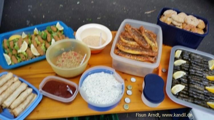 Picknick-Buffet