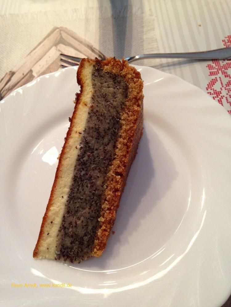 1 Stück Mohn-Schmand-Kuchen