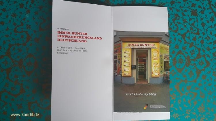 Ausstellung in Leipzig