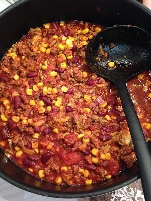 Titelbild chili con carne