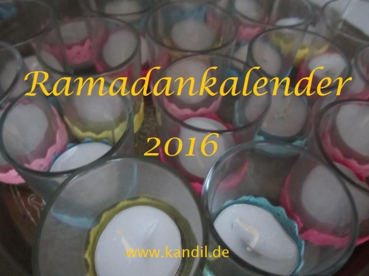 Ramadankalender 2016