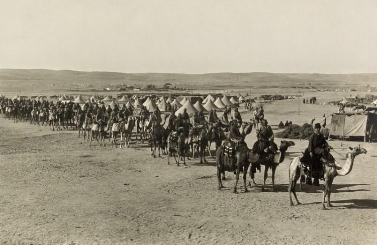 Karawane in Beer Sheba, 1915