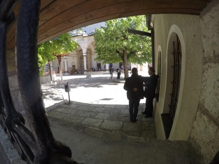 Gazi-Husrev-Beg-Moschee in Sarajevo