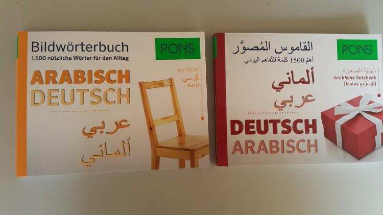 Bildwörterbuch Deutsch – Arabisch, Arabisch – Deutsch