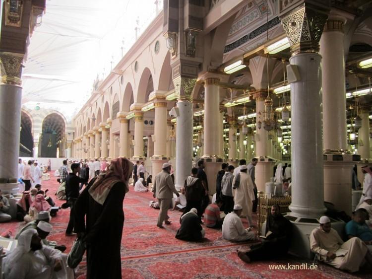Prophetenmoschee in Medina