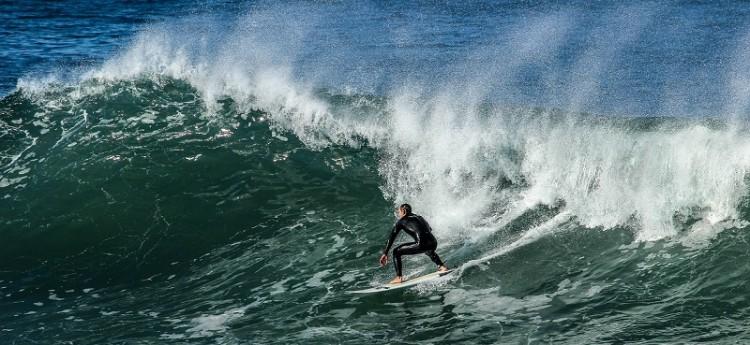 Surfen in Gaza