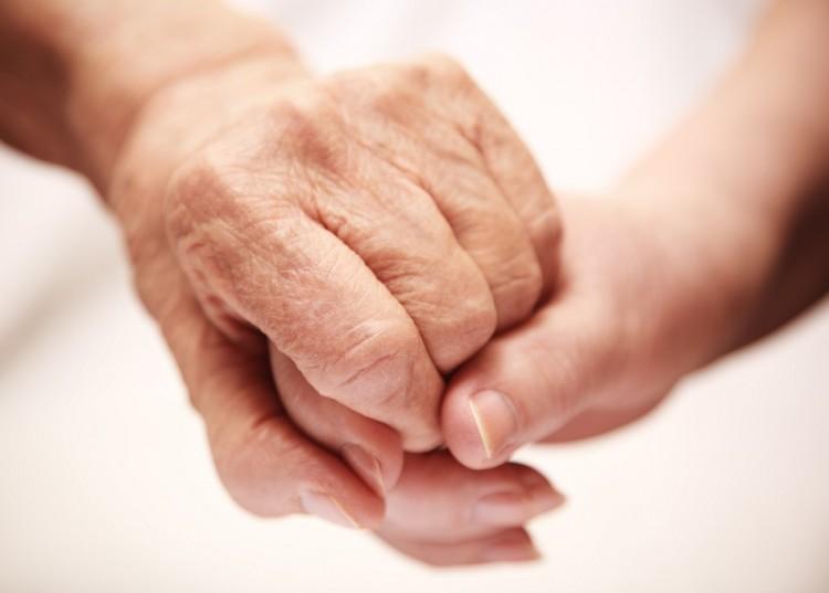 Häusliche Seniorenpflege