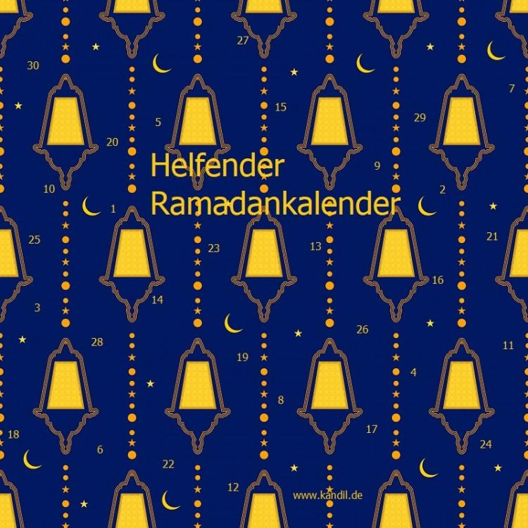 Der helfende Ramadankalender