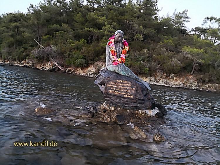 Türkische Meerjungfrau