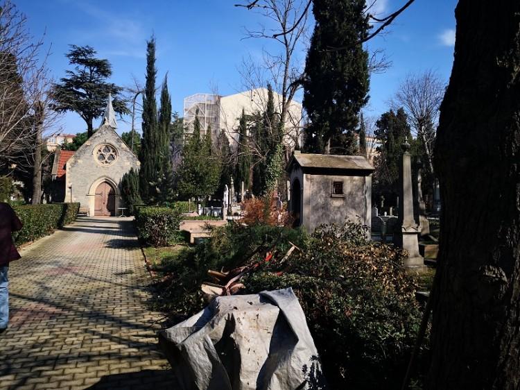 evangelischer Friedhof in Feriköy