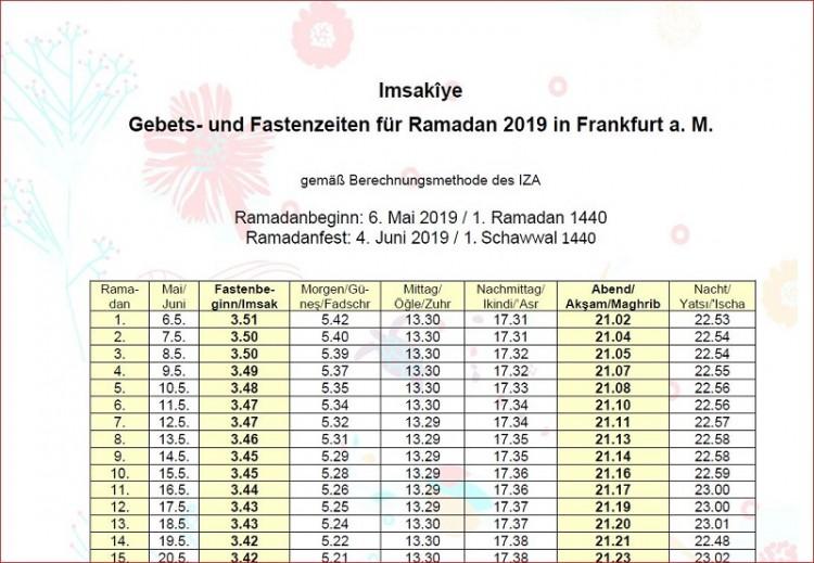 Fastenkalender 2019