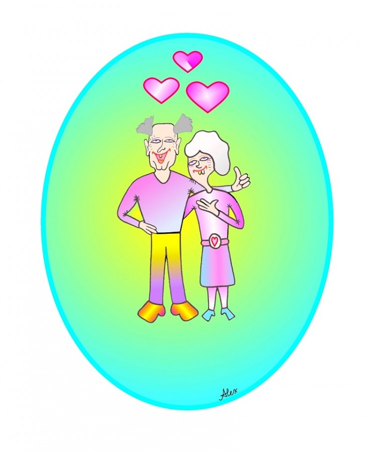 Glückliche Ehe