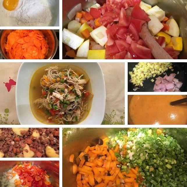Rezepte für Suppen und Eintöpfe
