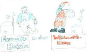 Nasreddin Hodscha und der Nikolaus