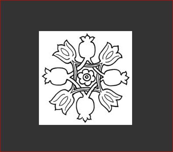 Blumen-Mandala 1