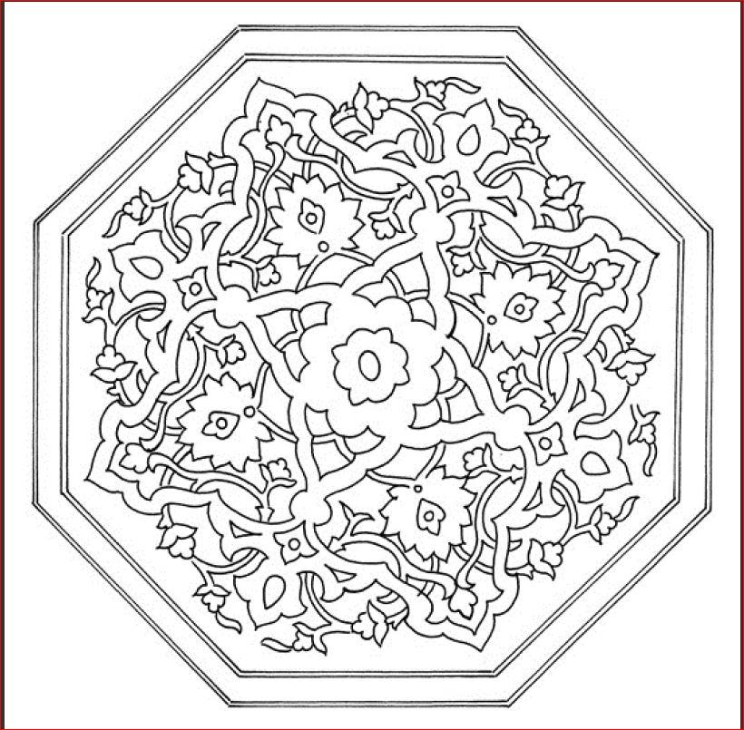 Blumen-Mandala 2