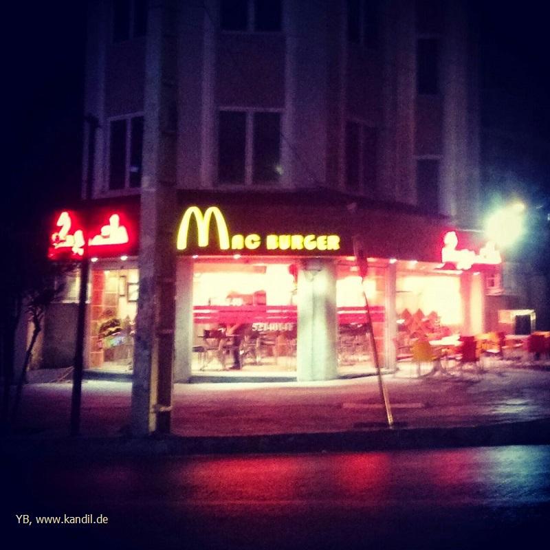 Fastfood im Iran
