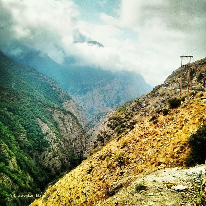 atemberaubende iranische Landschaft