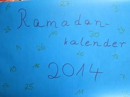 Ramadankalender Blumenwiese 1