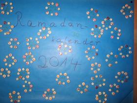 Ramadankalender Blumenwiese 4