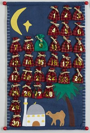 Ramadan Kalender Mit Schokolade