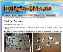 Basteln zum Ramadan