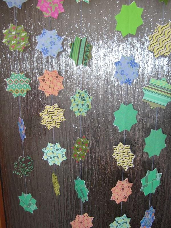 Ramadankalender Papiersterne 13