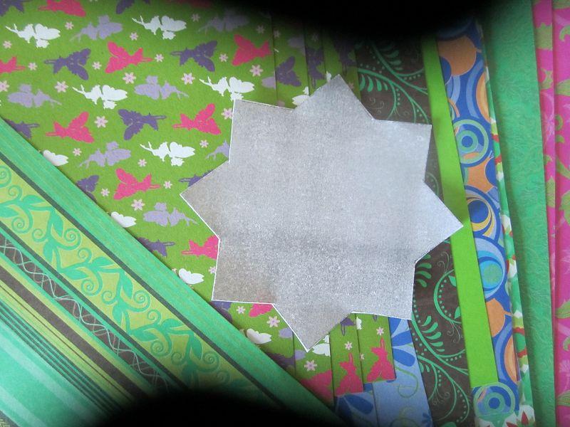Ramadankalender Papiersterne 1
