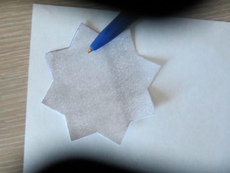 Ramadankalender Papiersterne 2
