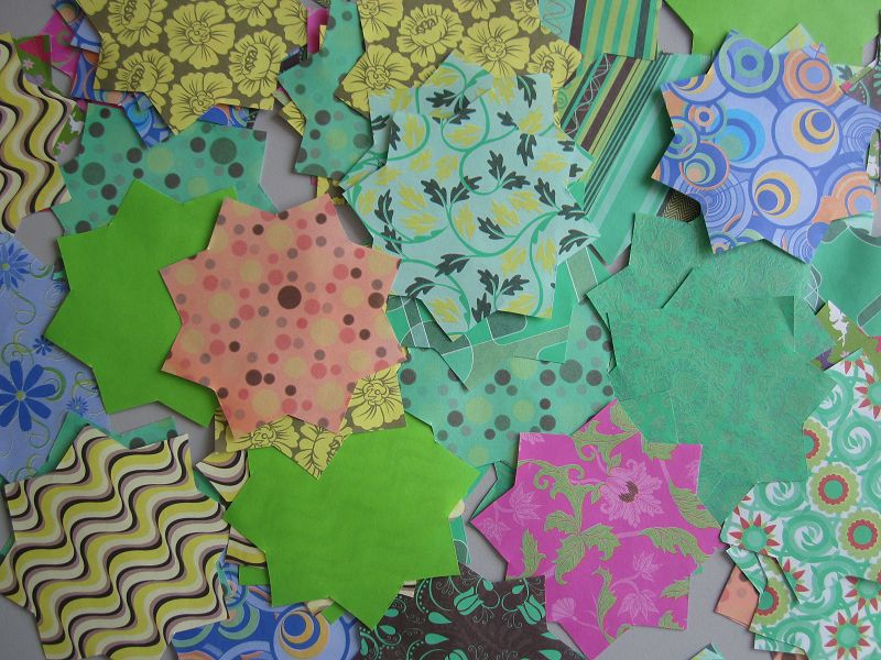 Ramadankalender Papiersterne 7