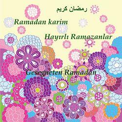 Ramadanwünsche