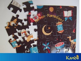 Ramadankalender Puzzle