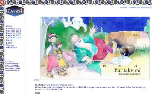 Virtueller Ramadankalender 2001