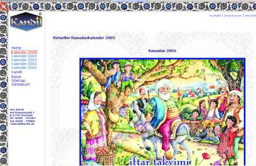 Virtueller Ramadankalender 2005